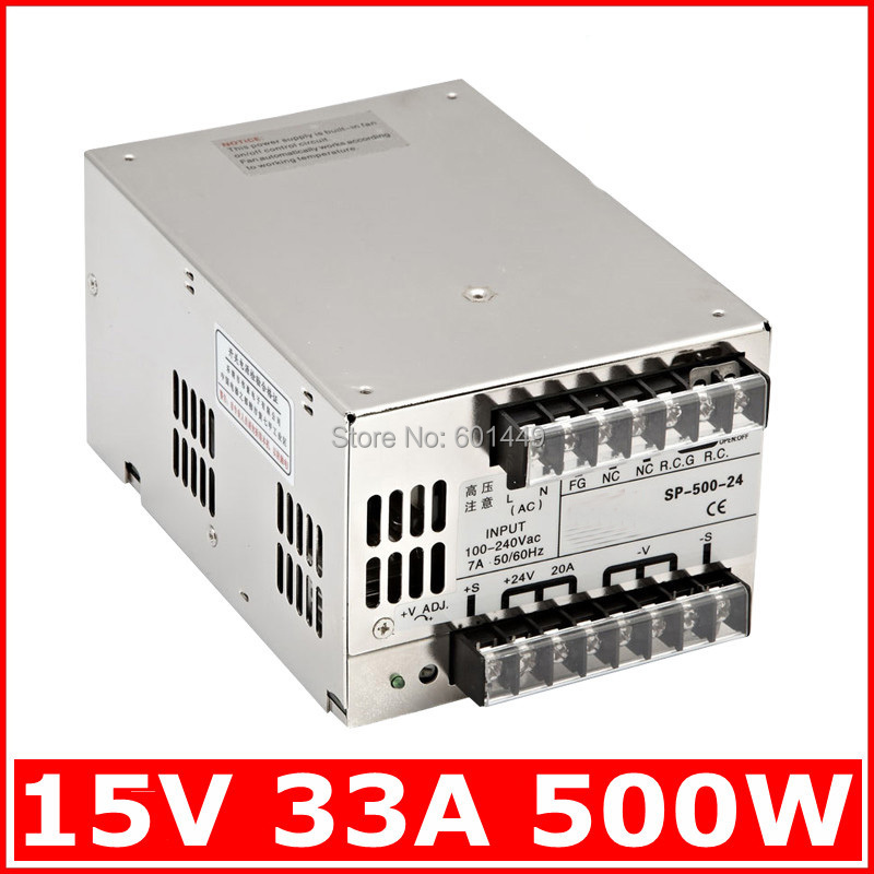 factory direct electrical equipment & supplies power supplies switching power supply s single output series scn 1000w 12v Factory direct> Electrical Equipment & Supplies> Power Supplies> Switching Power Supply> S single output series>SP-500W-15V