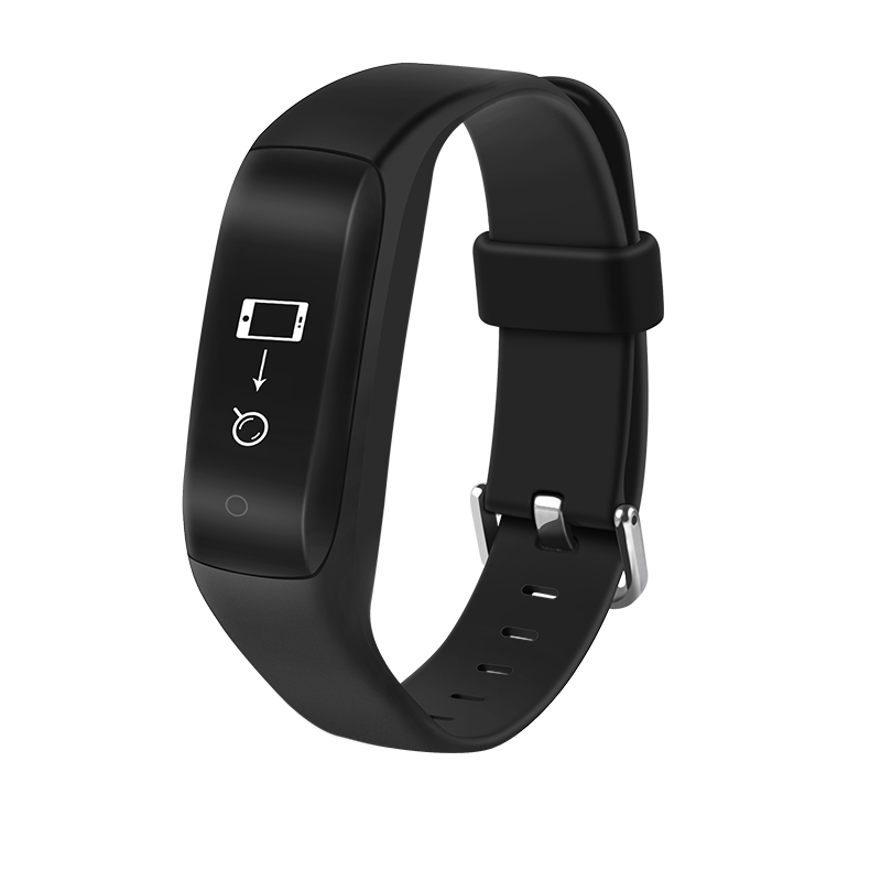Sports Fitness Tracker Heart Rate Monitor 0.91 OLED Bluetooth 4.2 Ip65 Waterproof 90mAh Working Time 7 Day For IOS Android 2017
