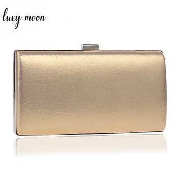 Fashion Evening Bags Silver Gold Color Day Clutch Female Blue Black Wedding Purse Messenger Bag Chain Shoulder Bag Handbag ZD455 - DISCOUNT ITEM  28% OFF All Category