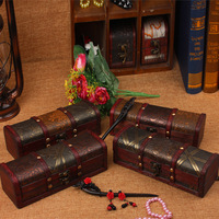 New Classical Box Wooden Box Storage Box Creative Gifts Craft Props