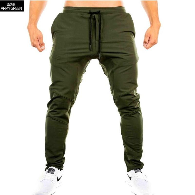 YUANHUIJIA2017 Men Gyms Pants Casual Elastic cotton Mens Fitness Workout Pants skinny,Sweatpants Trousers Jogger Pants