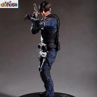 Game Resident Evil 2 Action Figure Character Leon Scott Kennedy (R.P.D. UNIFORM) 1/6 PVC Figure Collection Model Kids Toy