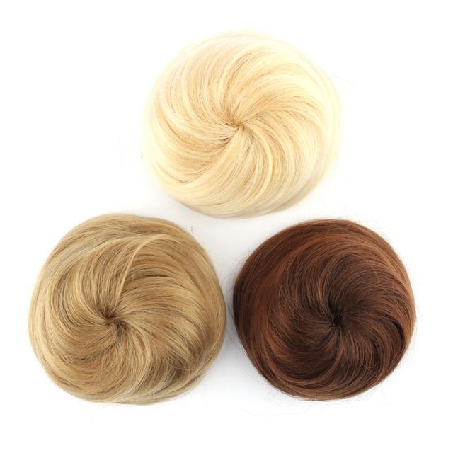 Плутон парикмахерские инструменты для укладки химическое поддельные пучок волос парик волос шиньоны Ролик Хепберн парики клип булочки Расширение парик