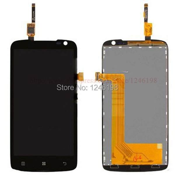 High Quality LCD Display and Touch Screen Digitizer Assembly TP For LENOVO S820 Free shipping + tracking code генераторы
