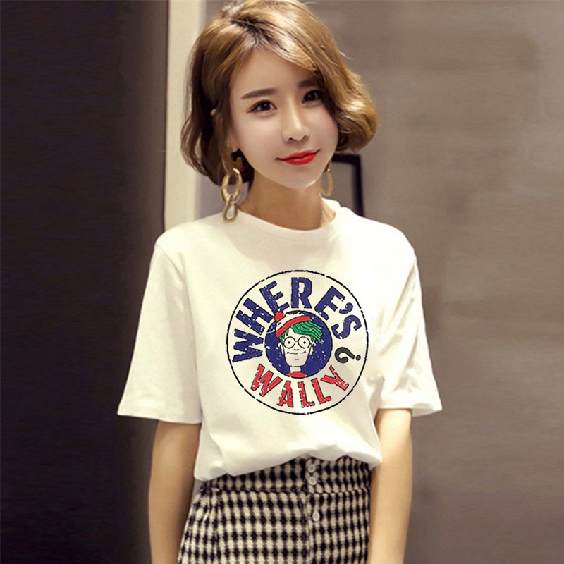 2018 Wear Breastfeeding Top Summer Short-sleeved T-shirt Out Fashion Prints Milking Clot ...