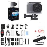 AKASO V50 Pro NIC 4 K/30fps 20MP WiFi цифровая Экшн-камера EIS 30M водонепроницаемый спортивный шлем go pro Спортивная камера + Подарочная селфи-палка