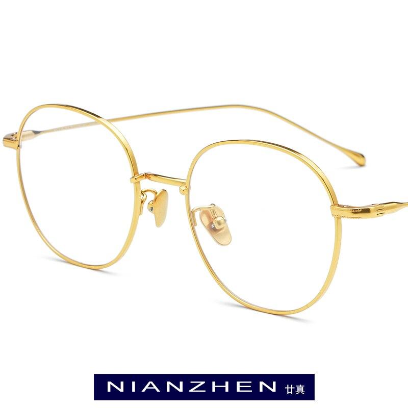 B Titanium Glasses Frame Men Polygon Eyeglasses Frames Myopia Optical Eye Glasses for Women Ultralight Spectacles