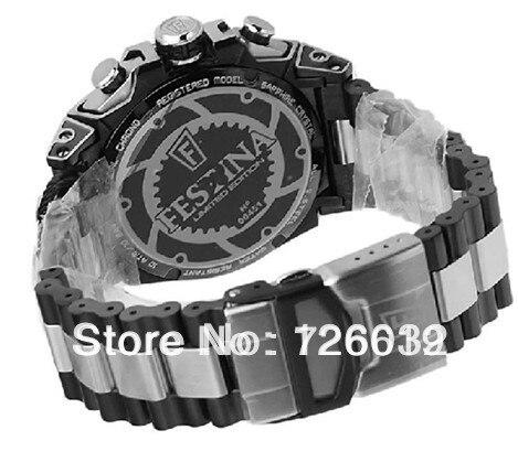 474b7e2a9c0 Sales promotion Festina F16660 1 Tour de France Limited Edition Men s Chrono  Bike Black Dial Black Steel Quartz Watch F16660 1-in Quartz Watches from ...