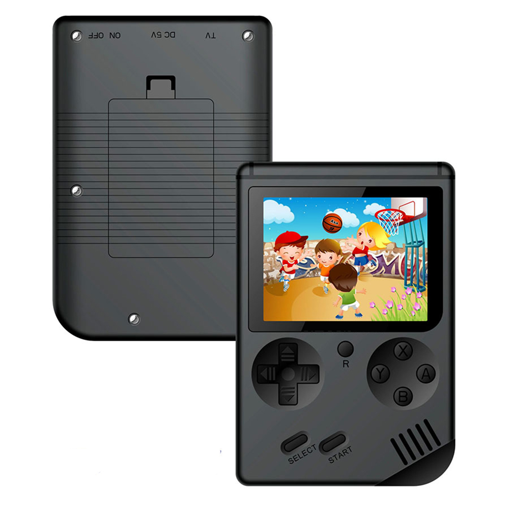 A Retro Portable Mini Handheld Game Console 8 Bit Color LCD Kids Color Game Player Built in 400 games