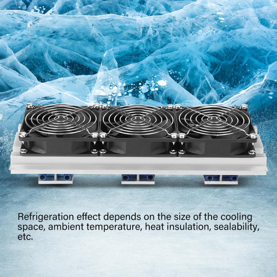 Trinuclear полупроводник Пельтье Pet водяного охлаждения кондиционируемый холодильник Движение компьютер охлаждением