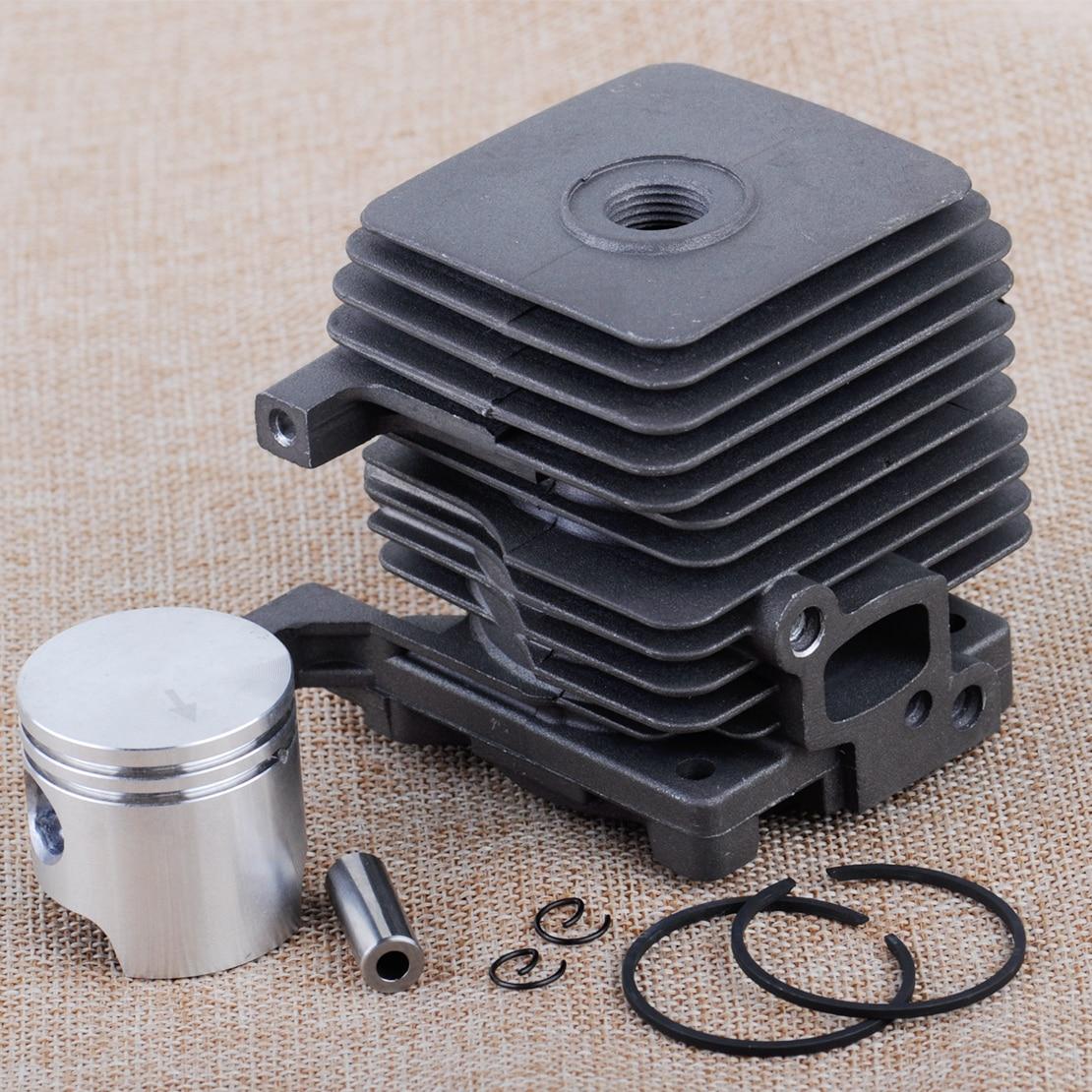 LETAOSK Cylinder Piston Kit Fit for STIHL FS55 FS45 BR45 KM55 HL45 HS45 HS55 4140 020 1202 50mm cylinder piston kit for stihl ts420 ts410 cut off saws oem 4238 020 1202