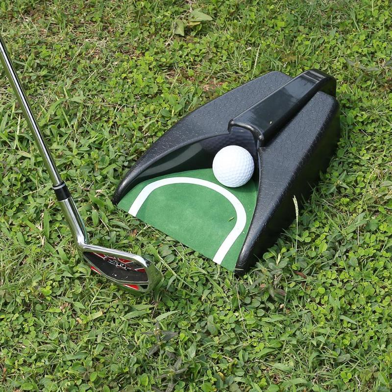 New Arrival Domestic Golf Ball Kick Back Automatic Return Putting Cup Device Practice Training Aids