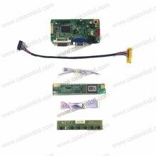 RTD2261 suporte placa controladora LCD VGA DVI Áudio para 15.4 polegada LCD painel l1280X800 LQ154K1LA1F BT154HG01 V.2 LP154W01-A3 DIY