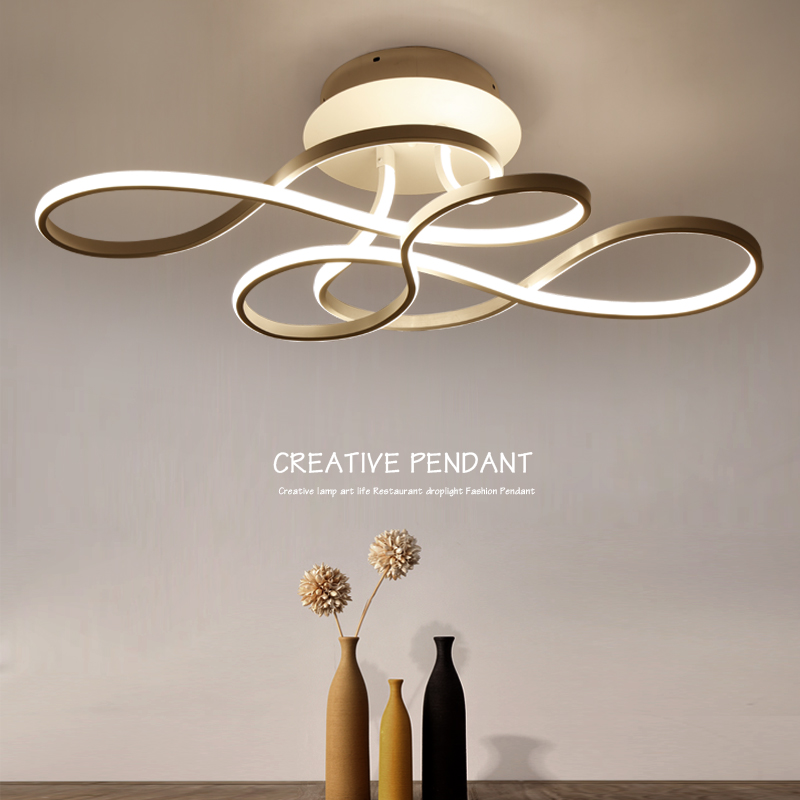 110 w акрил стены, потолок современный светодиодный фонарь для Обеденная блеск Светодиодная лампа потолка домашний светильники luminaria teto