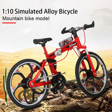 Bike Toy Simulation Bicycle Climbing Bicycle Collection Bike Model Cool Blue Fashion Red Safe Material
