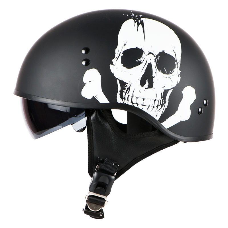 все цены на Free shipping, half HARLEY motorcycle motorbike Retro Trend Helmet, harley Jet Vintage retro helmet, inner visor NO shield