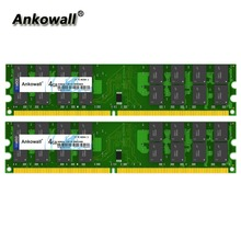 Комплект Ankowall DDR2 800 MHz 8 GB (2×4 GB) 4 GB ram 800 MHz DIMM notebook Memory PC2-8500 ОЗУ компьютера