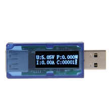 OLED USB Detector Voltmeter Ammeter Power Capacity Voltage Current Tester Measurement Analysis Instruments