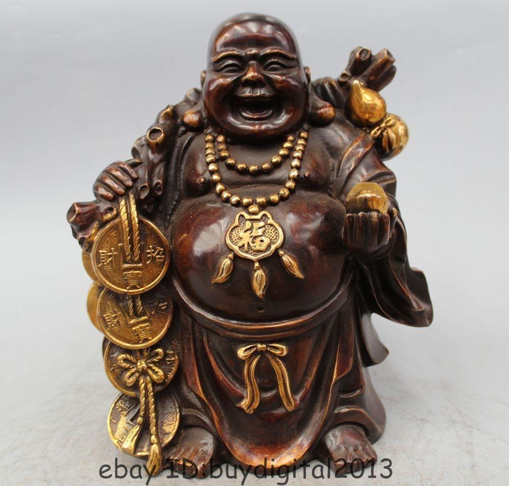 DS 11 Dora Bronzo Cinese Ricchezza Rana Moneybag Felice Ridere Maitreya Buddha StatueDS 11 Dora Bronzo Cinese Ricchezza Rana Moneybag Felice Ridere Maitreya Buddha Statue