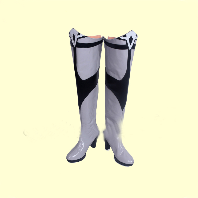 RWBY Weiss Schnee Snow Angel Ice Queen Cosplay Shoes Boots Halloween Carnival Party Costume Accessories