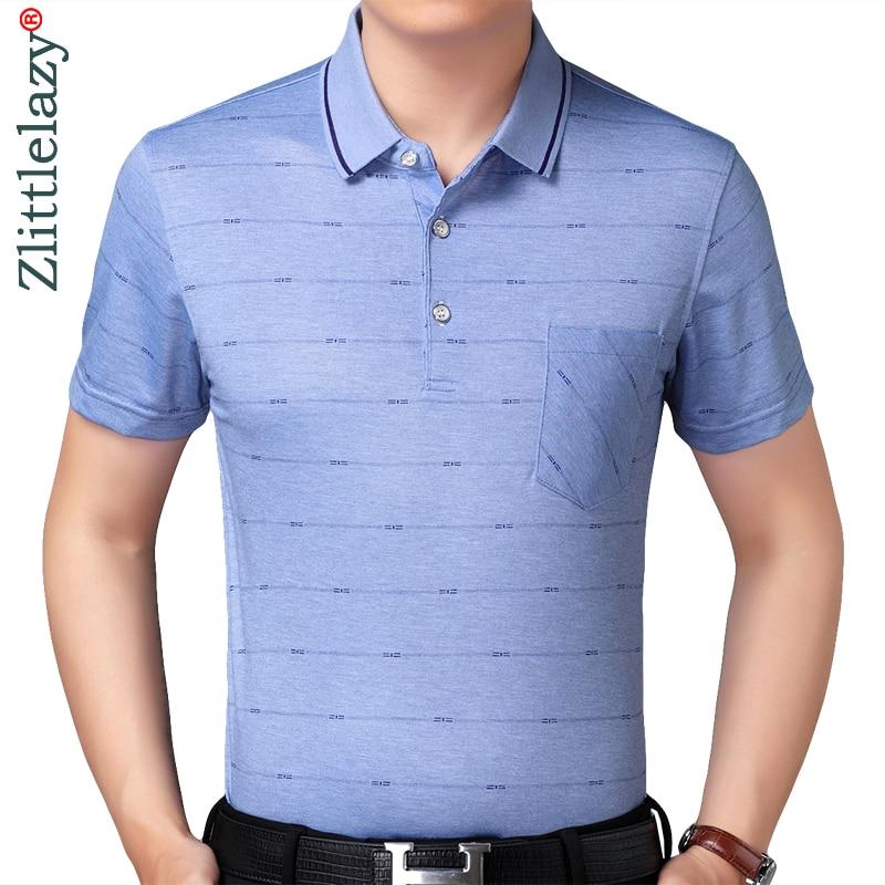 c8e24e308788 2019 real pocket bodybuilding short sleeve polo shirt men striped polos  summer pol tee shirts mens