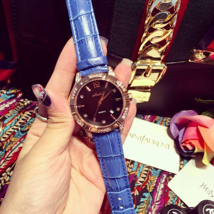 ФОТО Luxury Brand Delicate Women Ladies Quartz Watch Female Simple Casual Rhinostone Calender Wristwatches Relogio Feminino OP001