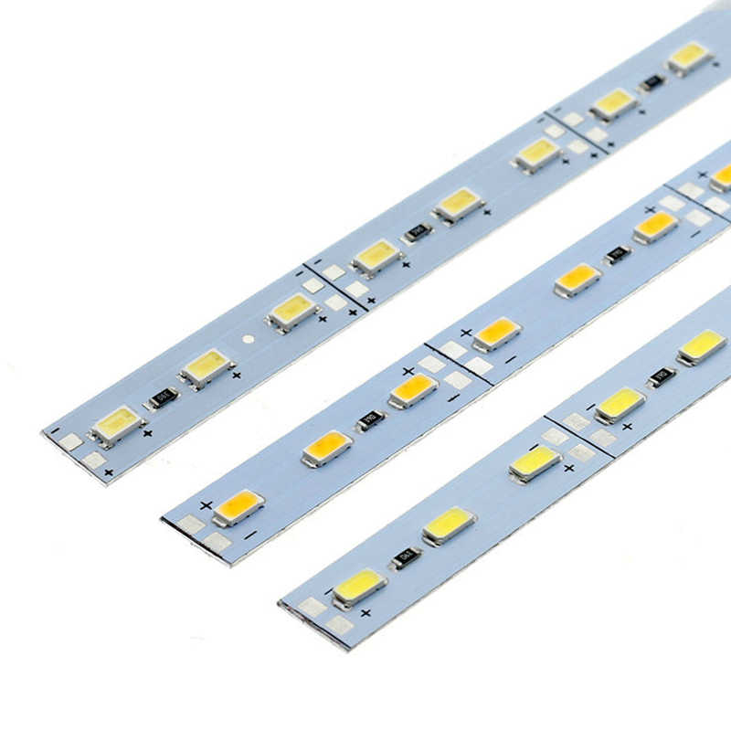5630 Светодиодный жесткий светильник высокой яркости DC12V 36 светодиодный s/50 см светодиодный светильник для кухни под шкаф витрина 10 шт./лот