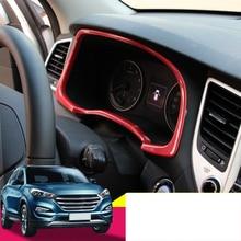 Lsrtw2017 Abs Car Dashboard Frame Trims for Hyundai Tucson 2015 2016 2017 2018 lsrtw2017 abs car rearview rain shield strip trims for hyundai tucson 2015 2016 2017 2018 2019 2020