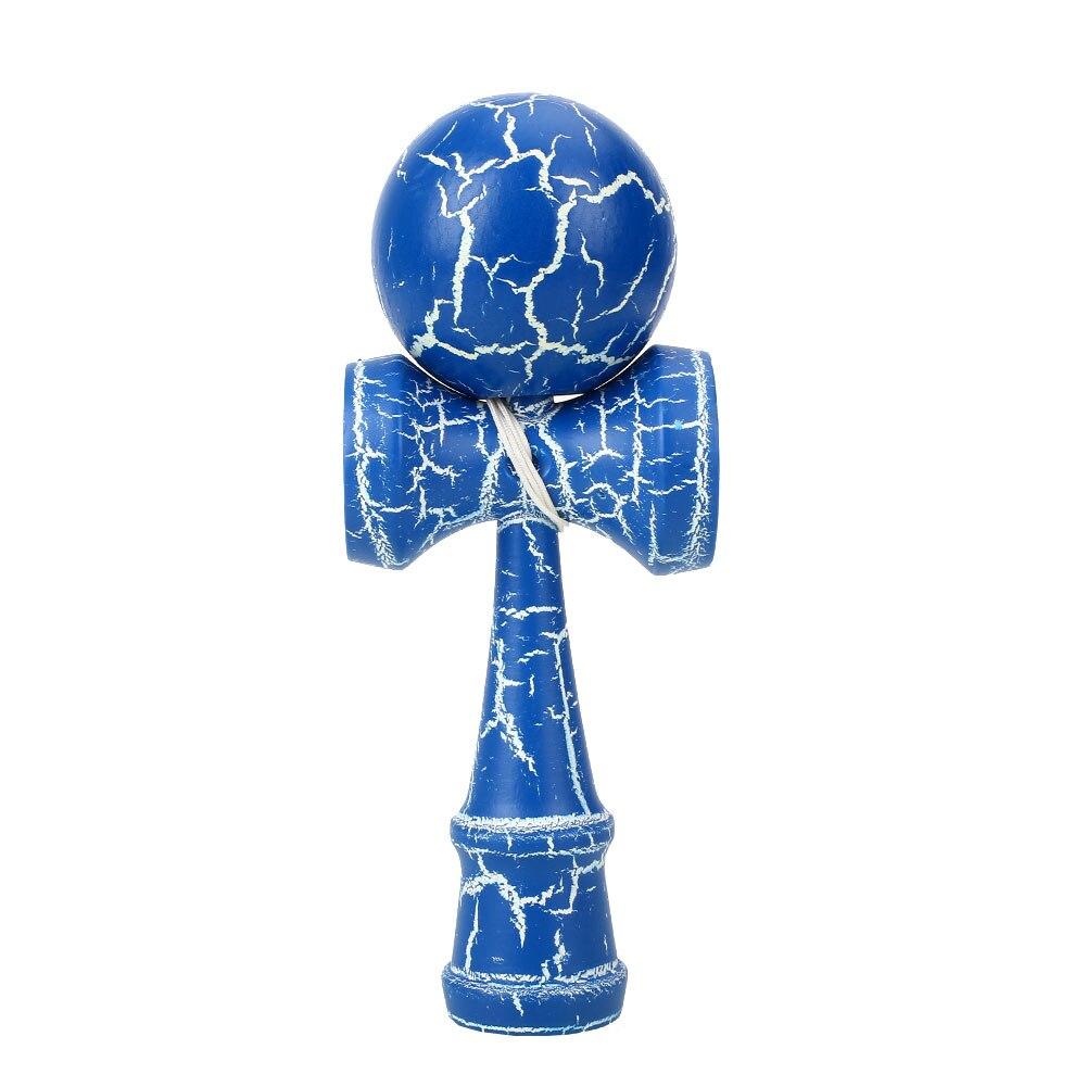 Красочные мастерство мяч костюм рефлексы игрушка кендама для японских Прямая - Цвет: blue and white color
