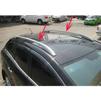 2007 2011 Mazda CX 7 High Quality Aluminium Alloy Luggage Rack Pasted Directly Installed Free Shipping