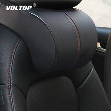 Memory Cotton Car Back Pillow Accessories Headrest Neck Rest Safety Seat Support Car Head Neck Rest Pillow Cushion Car Styling недорого