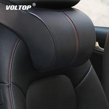 цена на Memory Cotton Car Back Pillow Accessories Headrest Neck Rest Safety Seat Support Car Head Neck Rest Pillow Cushion Car Styling