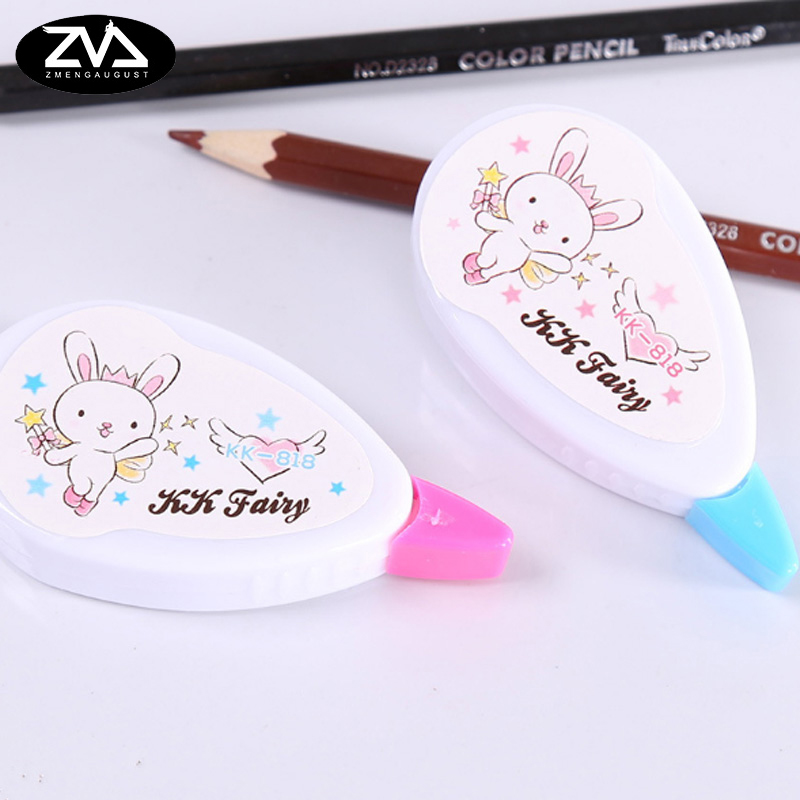 1psc/lot Rabbit Correction Tape Material Kawaii Stationery Office School Supplies Papelaria School  Gifts 5M