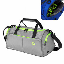 Waterproof polyester gym sports bag women's yago training sports bag new style single shoulder bag for male beach travel handbag