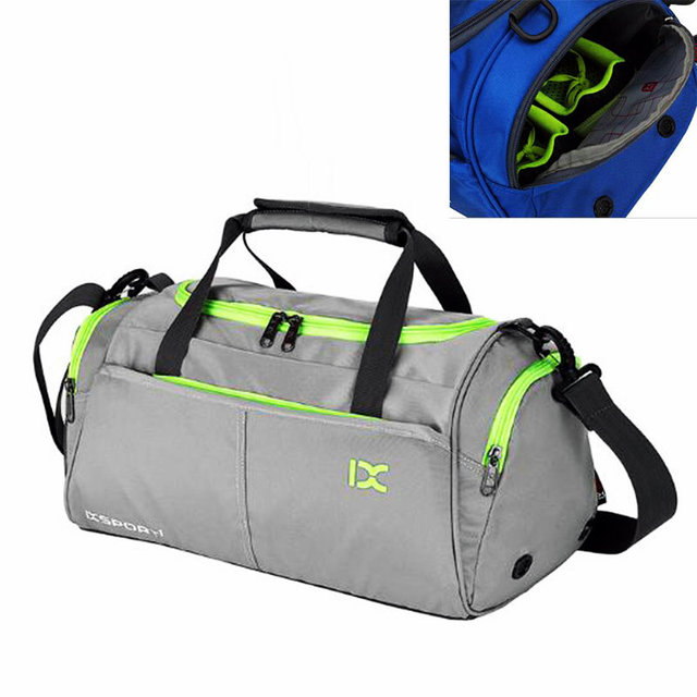 83856a3db5ec Waterproof polyester gym sports bag women s yoga training sports bag new  style single shoulder bag for