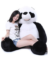 Чучело панды плюшевые игрушки огромный 175 см и ни в коем случае Panda кукла мягкий спальный подушка подарок на день рождения 0317