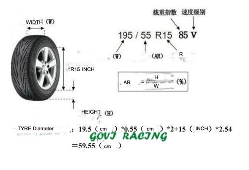 4 pçs / lote Universal Car Spare SUV Tampa do pneu Capa de pneu de - Peças auto - Foto 4
