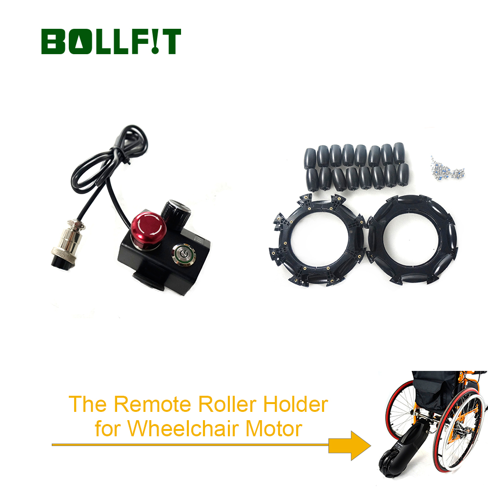 Roller Switch Remote Holder Surpport Wheelchair Motor Wheelchair Assistant Part Replacement JQ Electric Wheelchair Kit