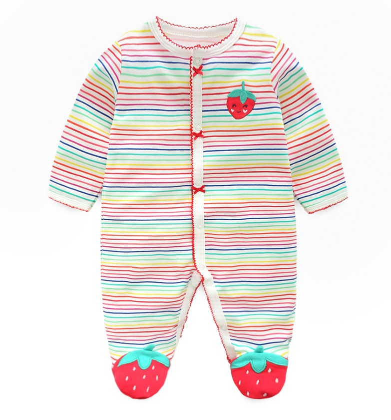 HTB1F2BUv98YBeNkSnb4q6yevFXaI Newborn baby pajamas unicorn cotton romper boys clothes overalls romper infants bebes jumpsuit premature infant baby clothes