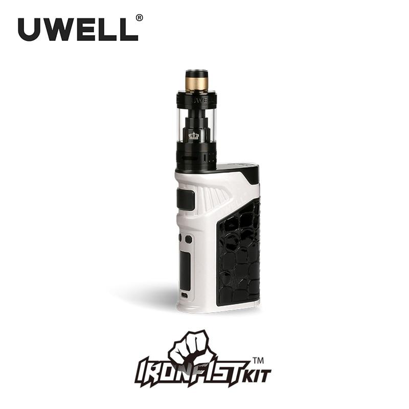 UWELL IRONFIST Kit 5-200W 2ml/5ml Tank Atomizer 18650 Battery or USB Charge Electronic Cigarette Kits (Without battery)