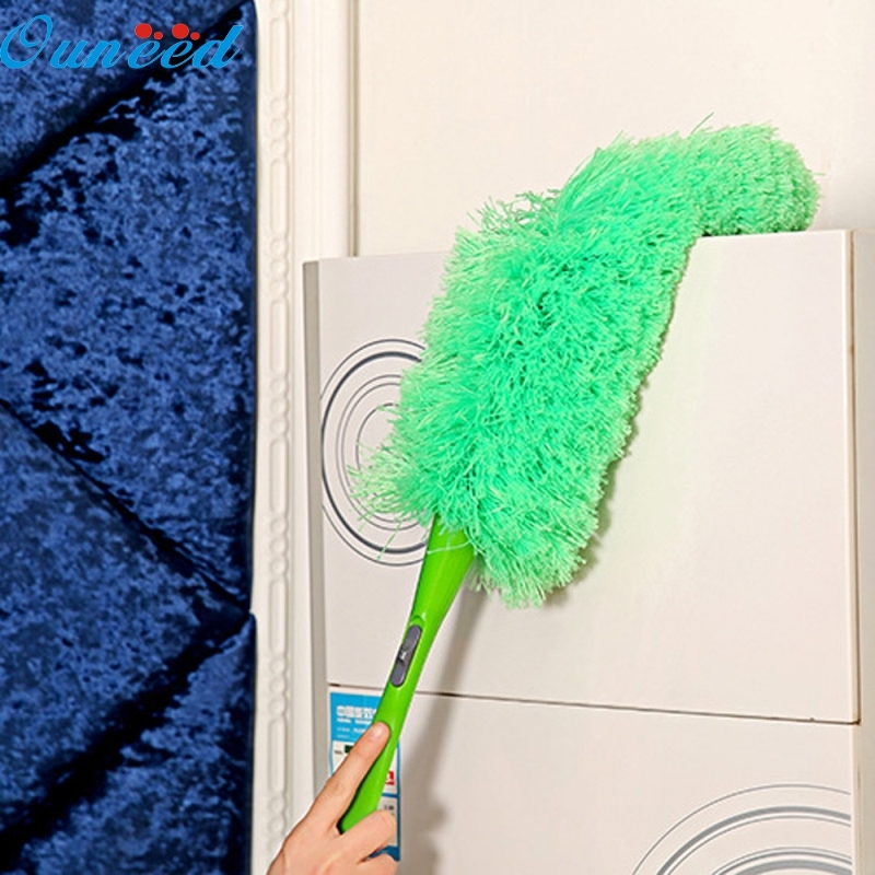Ouneed Happy Home Magic Soft Microfiber Cleaning Duster Dust Cleaner Handle Feather Static Anti 1 PieceOuneed Happy Home Magic Soft Microfiber Cleaning Duster Dust Cleaner Handle Feather Static Anti 1 Piece