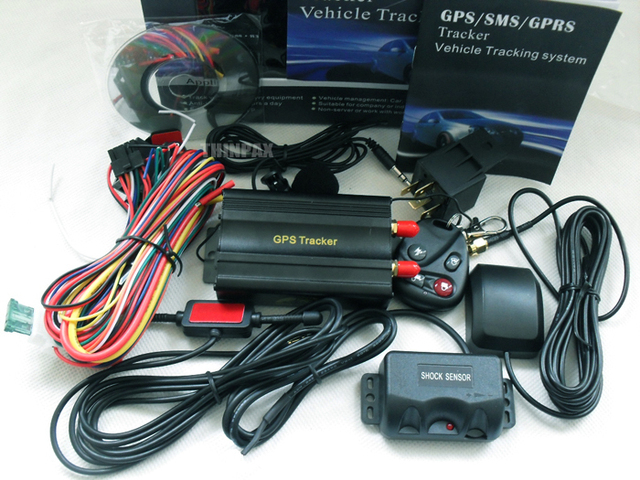 TK103B Vehicle GPS tracker + Shake Sensor