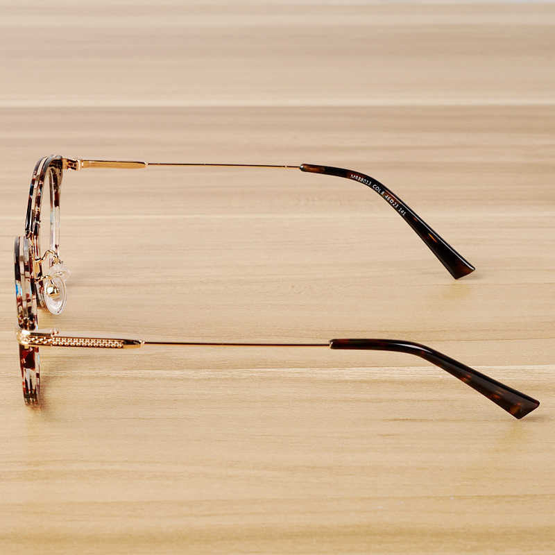 Wanita dan Pria Mewah Desain Vintage Kacamata Kacamata Lensa Pria Kasual Optik Kacamata Bingkai Trendi Keren Kacamata