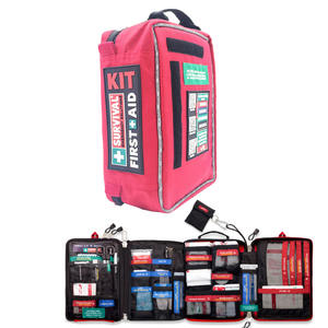 First-Aid-Kit Survival-Kit Travel Emergency Medical Camping Home Outdoors 4-Sections