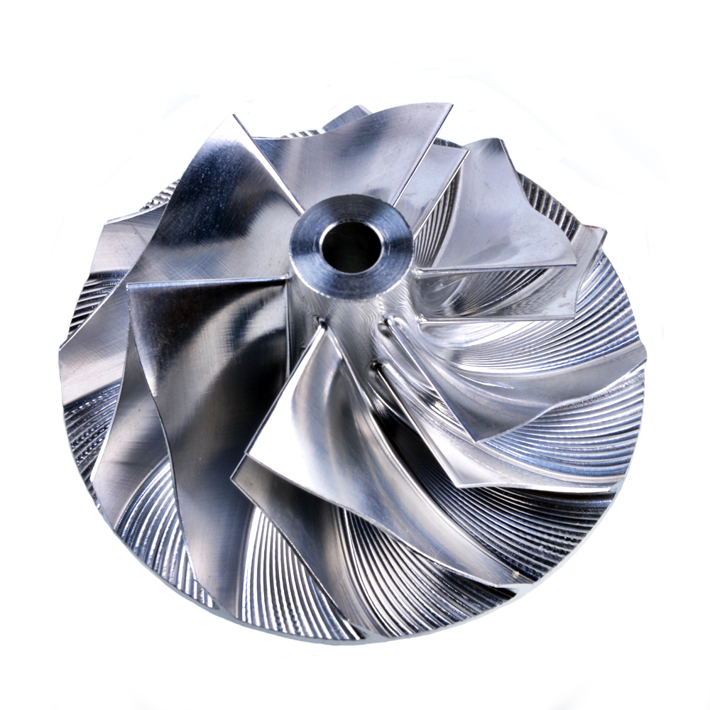 Kinugawa Turbo Billet Compressor Wheel 38.58/52.02mm 6+6 for Garrett GT15~25 GT1752 452204 for SAAB B205