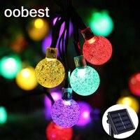 Oobest EU Solar String Sun Wheel String 15 9 9 Pendant Lights Colorful LED Lamparas Colgantes