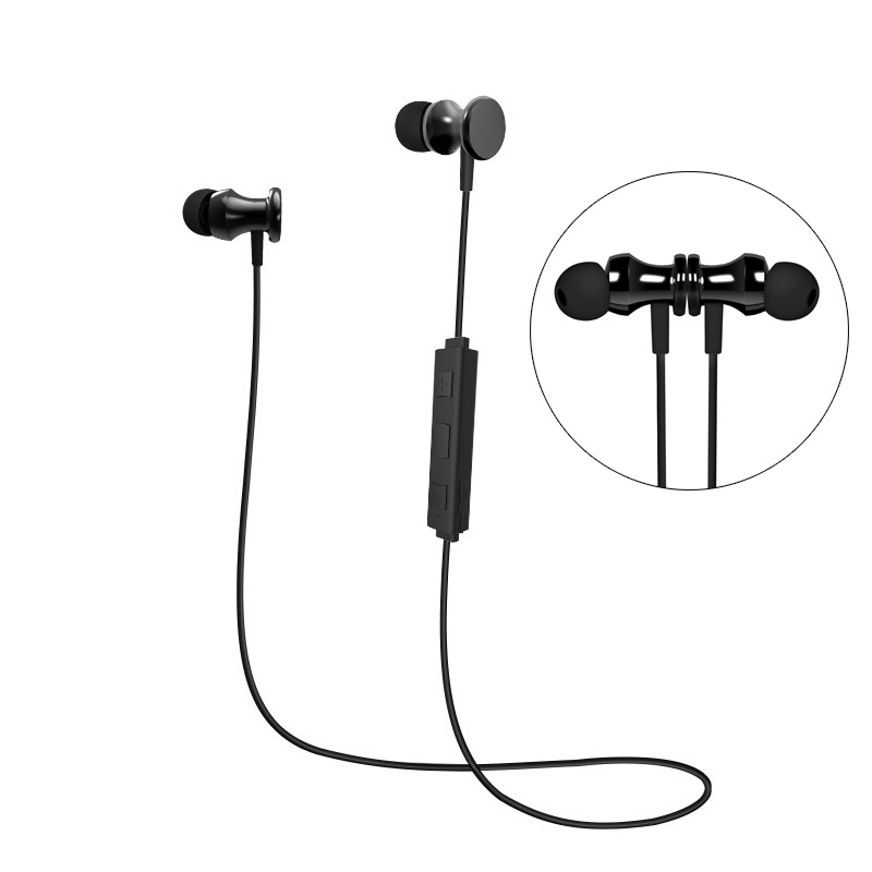 SOWAK S2 Bluetooth Headset Wireless Headphones V4.1 Running Sport Earphones Stereo Earbuds With Microphone for iPhone xiaomi m320 metal bass in ear stereo earphones headphones headset earbuds with microphone for iphone samsung xiaomi huawei htc