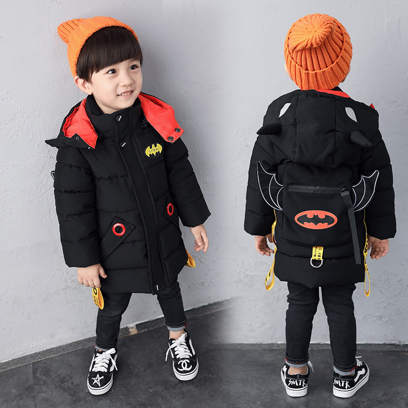 Fashion New And Unique Three-dimensional Cartoon Design Of Winter Children's Cotton Coat 3~8 Years Old Baby Thick Cotton Jacket