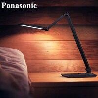 Panasonic Modern Metal Brushed Aluminum Saving Folding Touch LED Desk Lamp Office Study Reading Working Table Desktop Light