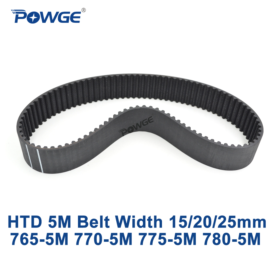 POWGE HTD 5 M courroie de distribution C = 765/770/775/780 largeur 15/20/25mm dents 153 154 155 156 HTD5M courroie synchrone 765-5 M 770-5 M 780- 5 MPOWGE HTD 5 M courroie de distribution C = 765/770/775/780 largeur 15/20/25mm dents 153 154 155 156 HTD5M courroie synchrone 765-5 M 770-5 M 780- 5 M